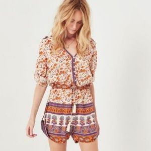 SPELL & the Gyspy  Romper Gypsy Love sz  8